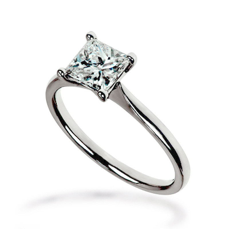 Claw Solitaire Diamond Ring