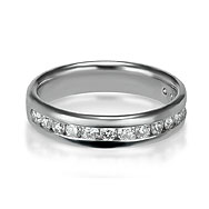 Round Channel Wedding/Eternity Ring
